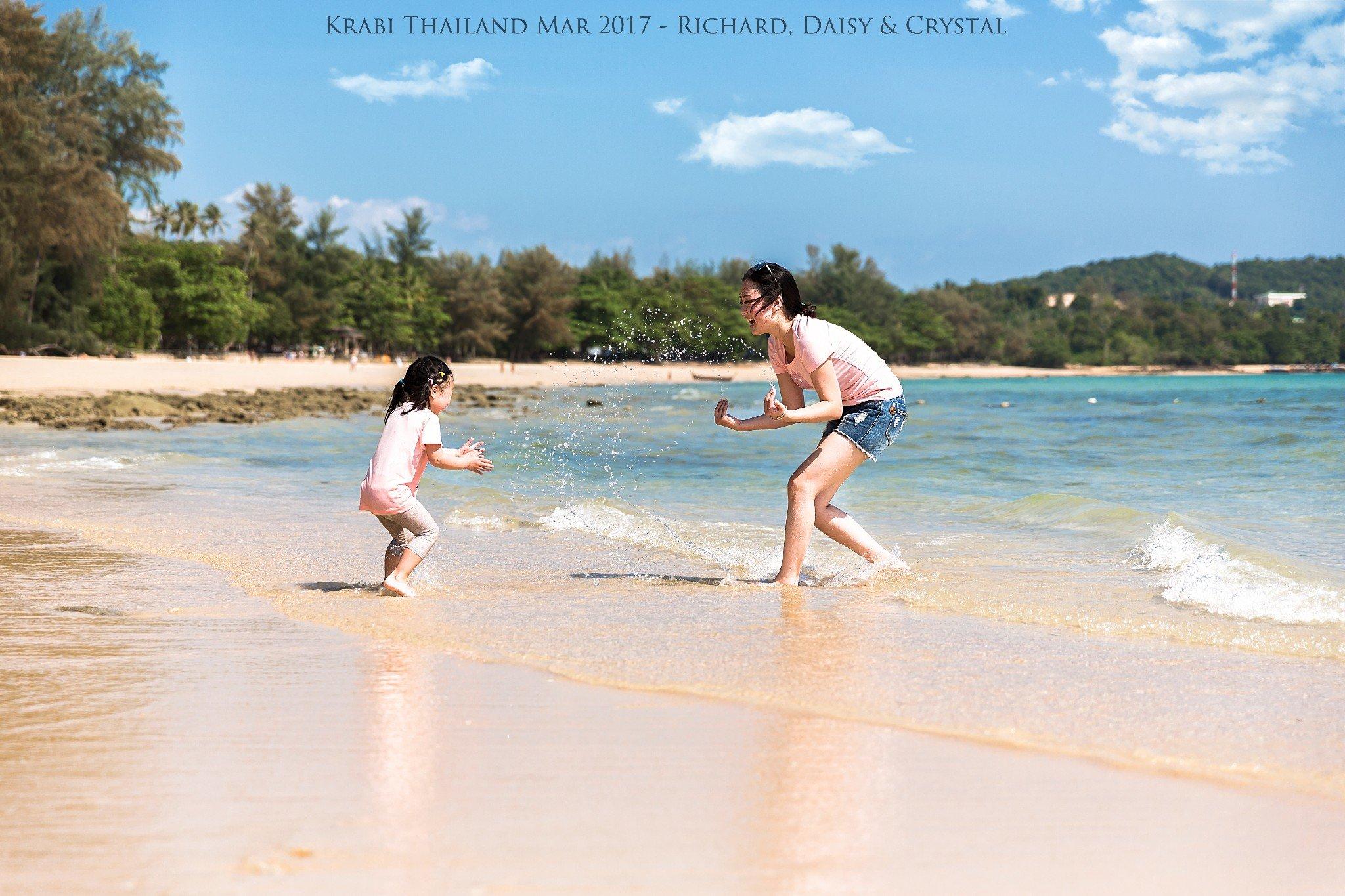 阳光&沙滩——甲米,没有Schedule的5日海边悠闲亲子时光