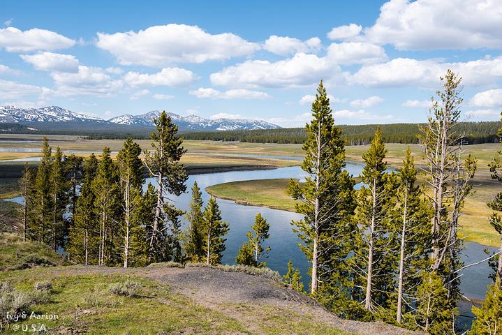 这一路上,景色慢慢由春天变为冬天,山谷里,树林间,草地上夹杂着皑皑
