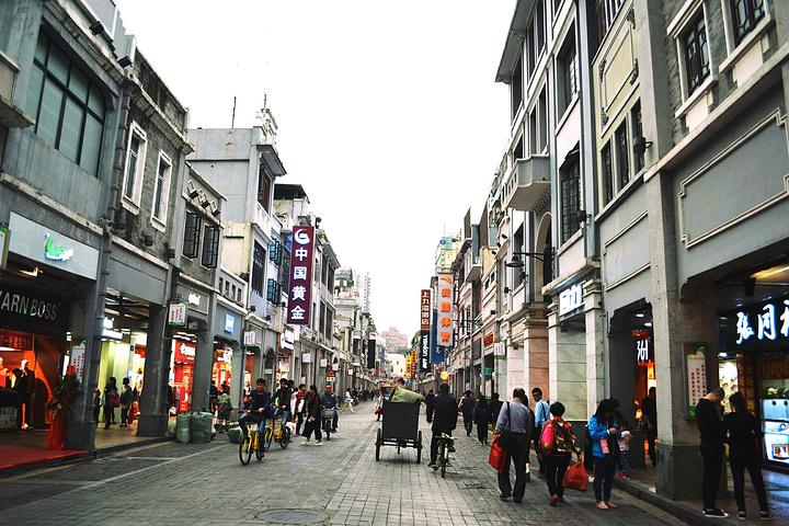 """有种老广州的感觉.【交通】_上下九步行街""""的评论图片"""