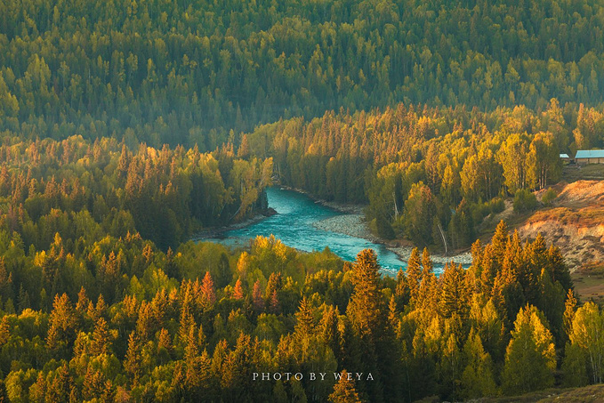禾木风景区图片