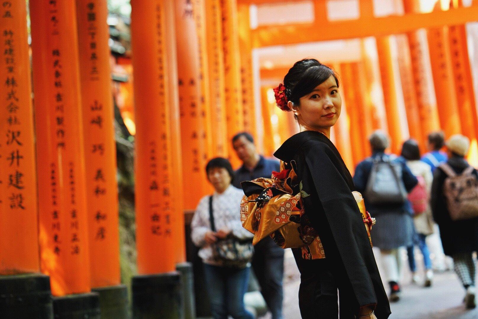 日本关西8日吃吃吃顺便赏个樱