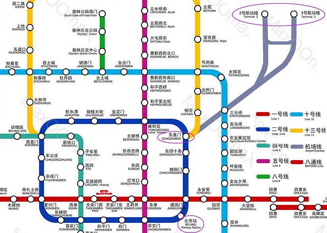 北京站机场大巴的具体位置在哪?