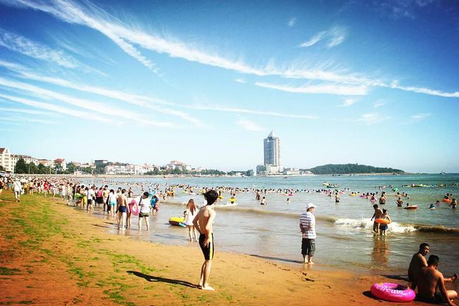 第一海水浴场图片