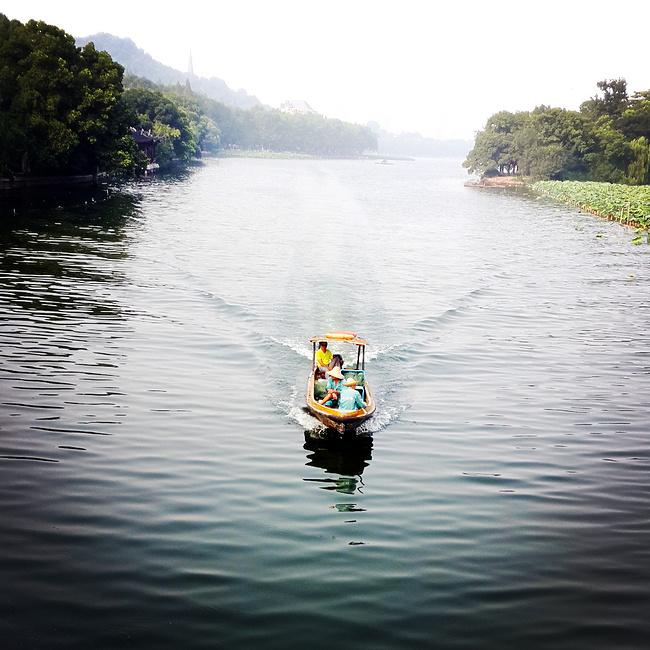 「一生至少一次攻略游」杭州西塘乌镇_嘉002旅行者暖暖(7)全家图片