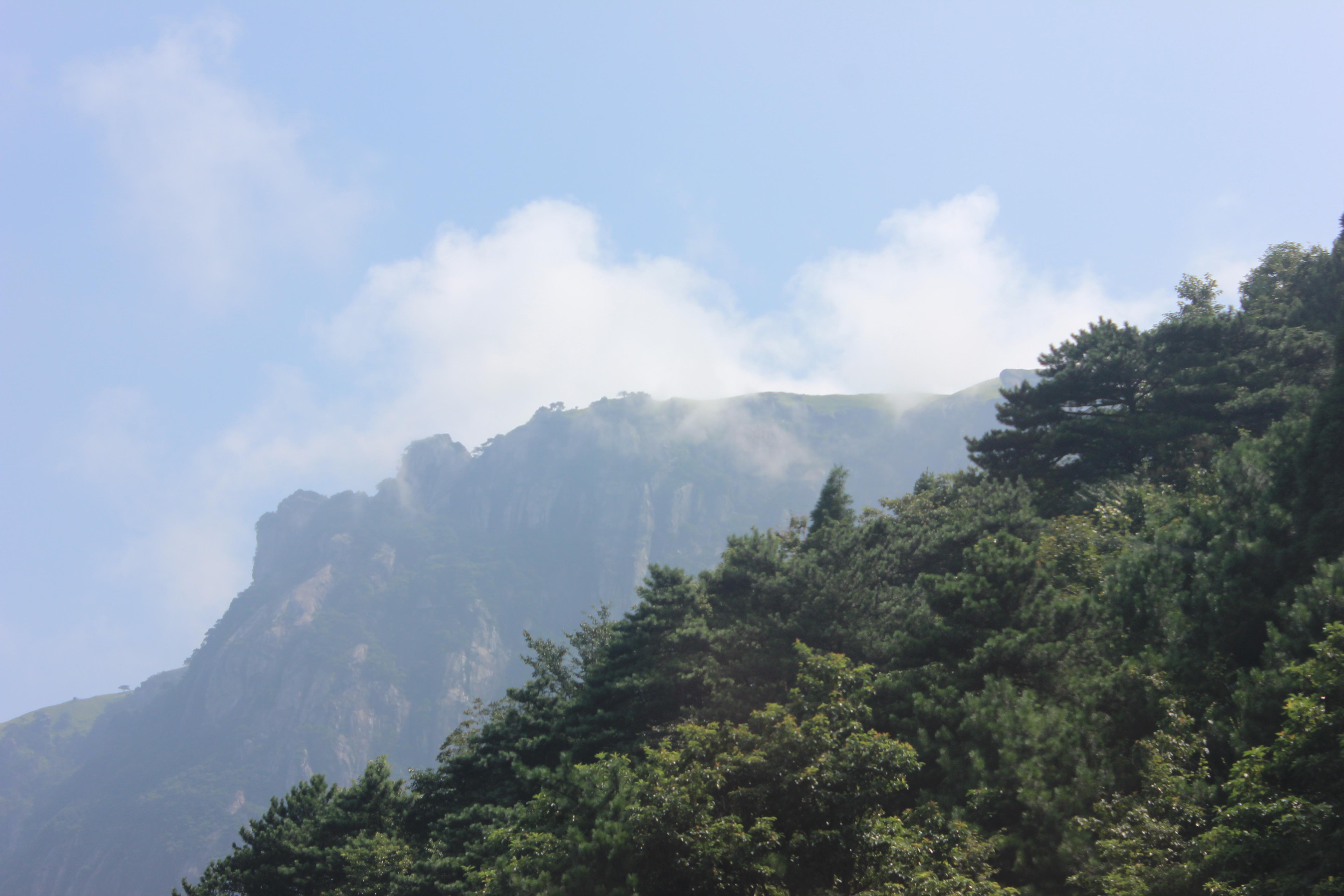 5… 伏牛山世界地质公园——木札岭,位于河南省洛阳市嵩县车村镇,总面