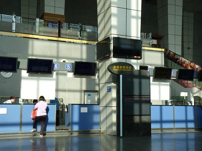 深圳蛇口码头—香港机场---莫斯科机场转机飞---圣彼得堡图片