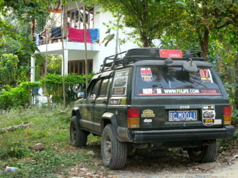 开车出国--老挝泰国自驾游