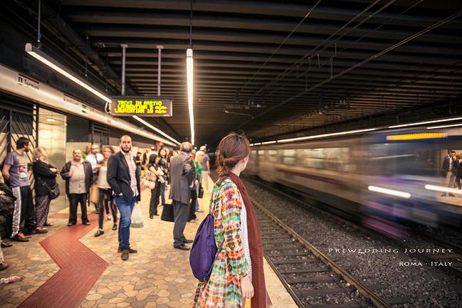 罗马地铁图片
