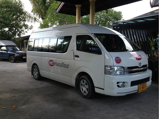 泰国的丰田面包车!