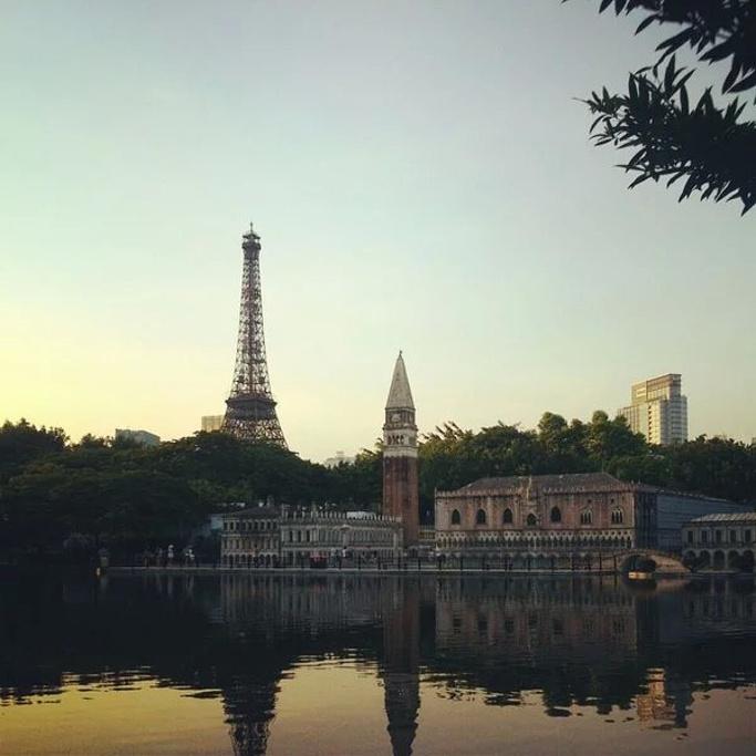 世界之窗也算是深圳著名的景点
