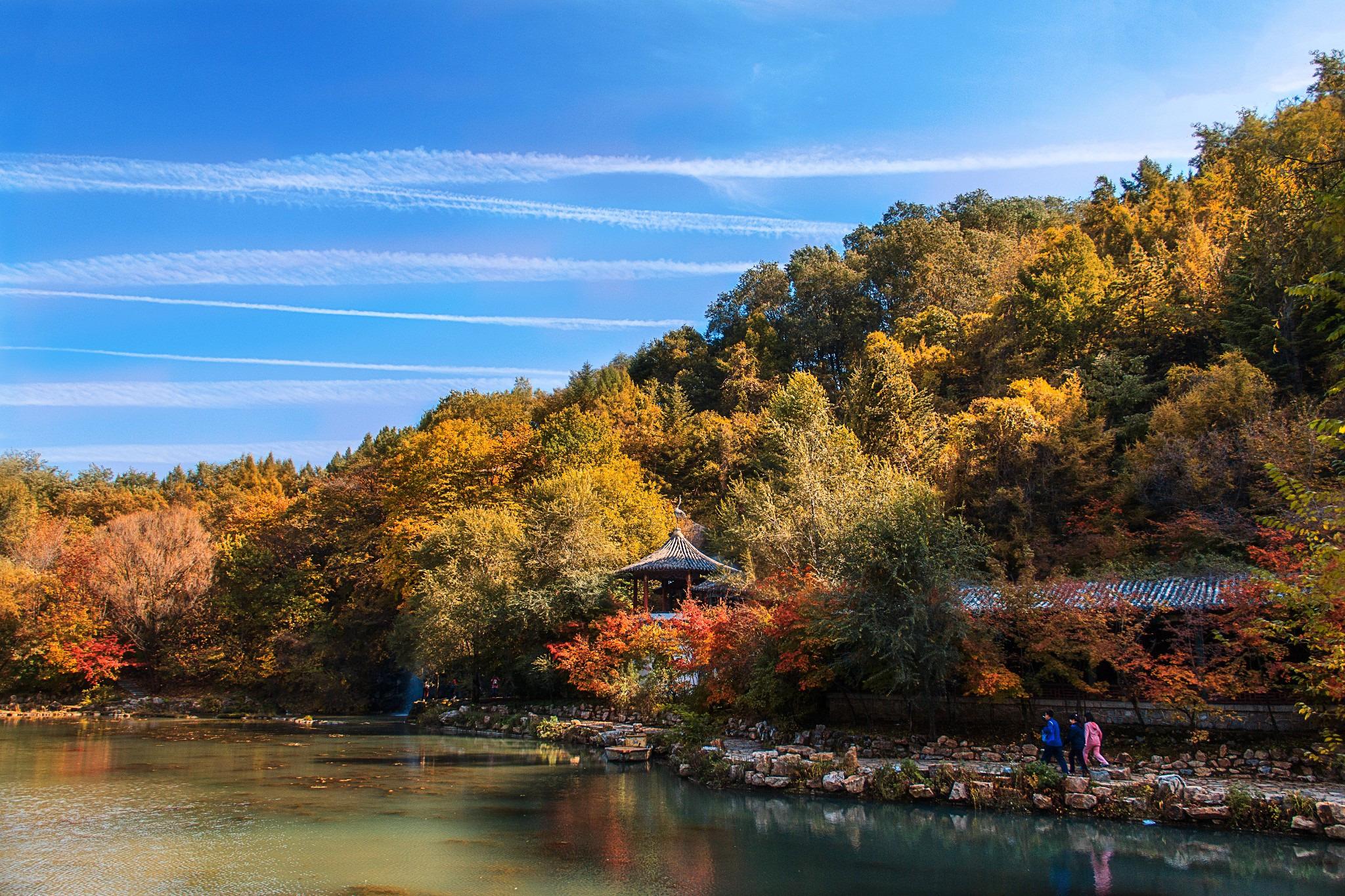 本溪水洞风景名胜区位于辽宁省本溪市所属的本溪县内,面积10.