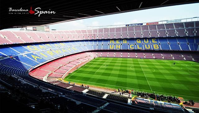 是全欧洲最大的足球场