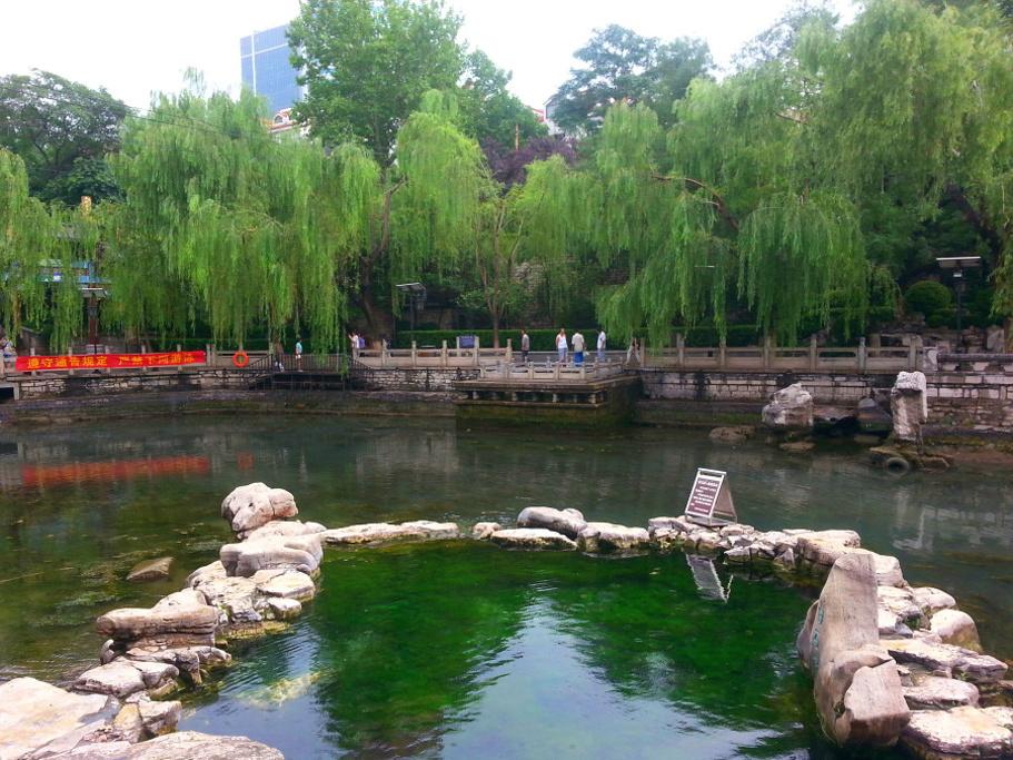 白石泉旅游景点图片