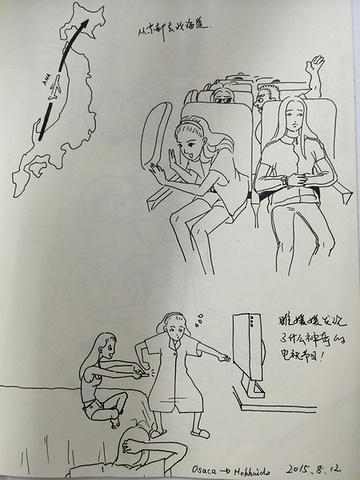 酒店餐廳手繪效果圖 線稿