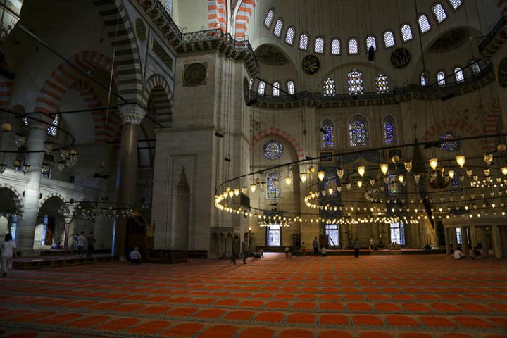 """""""这里其实不是很好找_苏莱曼清真寺""""的评论图片"""