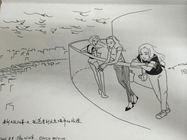 透过手绘漫画看东瀛