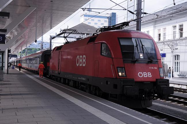 火车旅行图片
