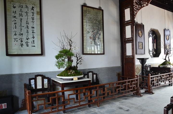 中式园林面馆装修效果图