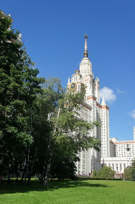 莫斯科国立大学图片