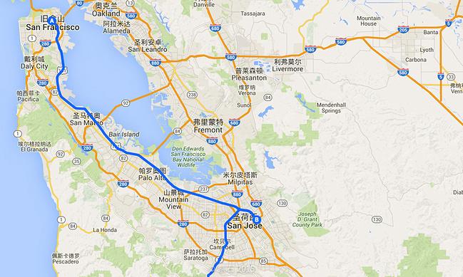自驾美国1号公路美图-附全程攻略地图