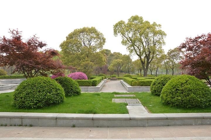 校园内不管是教学楼建筑还是校园走道以及运动场乃至各个绿地花丛小湖
