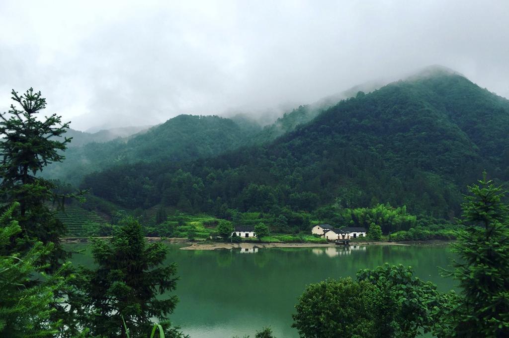 皖南山水之美渔诗之乐,隐于秋浦河畔