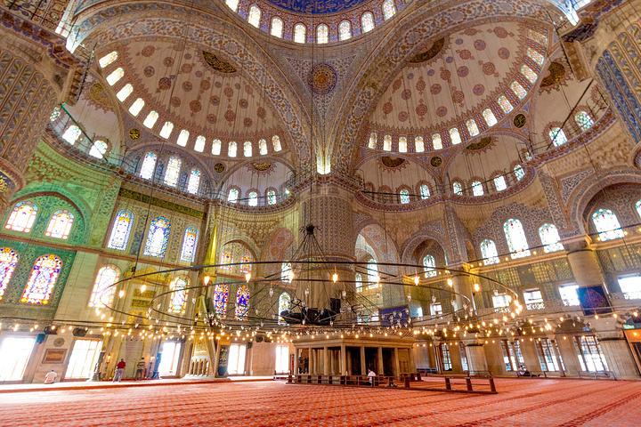 """""""...方分的章节所以就把最后一天拍..._苏丹艾哈迈德清真寺""""的评论图片"""