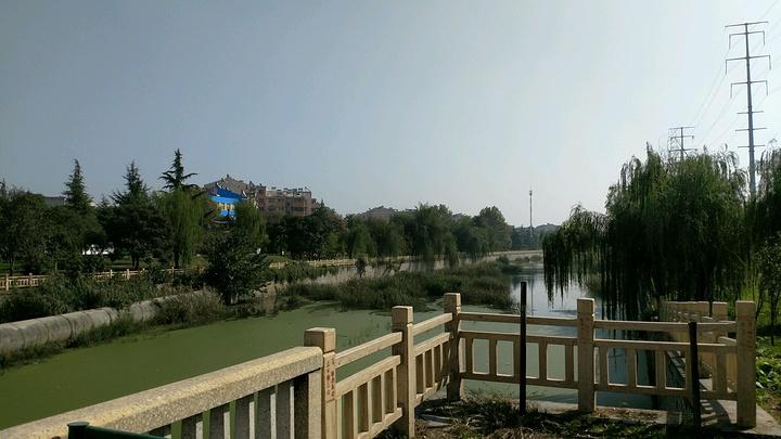 淮北同性公园_主要景区河滨公园在濉溪县城一段.淮北濉河两岸相对比较 安静了一些