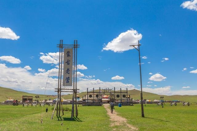 蒙古灯杆造型素材