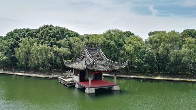 绍兴柯岩风景区图片