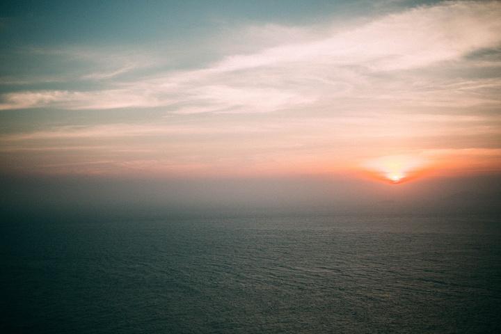 """怎么能少得了太阳下山时的逆光背影呢_东极岛风景区""""的评论图片"""