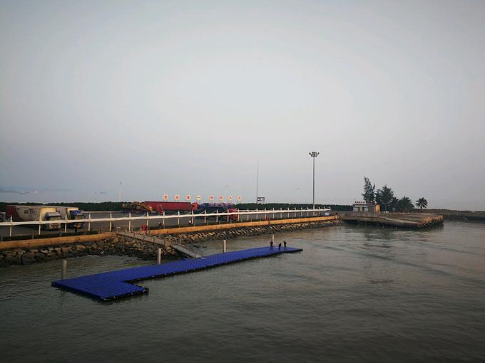 徐闻县海安港码头.