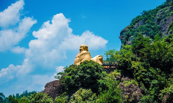 大慈岩风景区图片