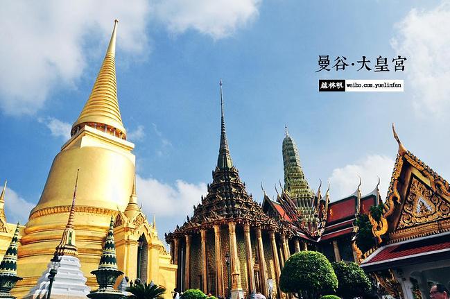 轻轨驶向庙宇,天灯沉入星河—泰国十日
