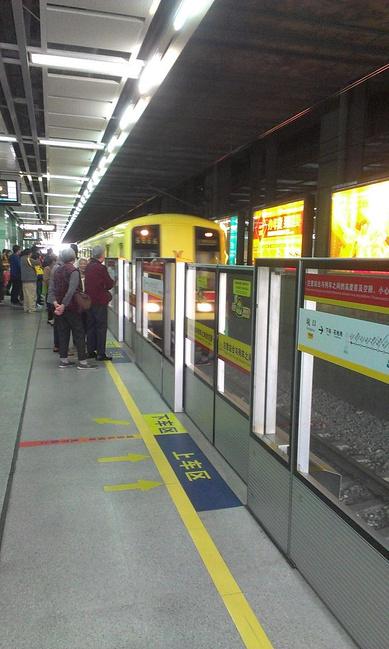 广州坑口地铁站——机场南地铁站图片
