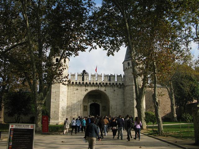 """""""...? Palace)最大的一座..._托普卡帕皇宫""""的评论图片"""