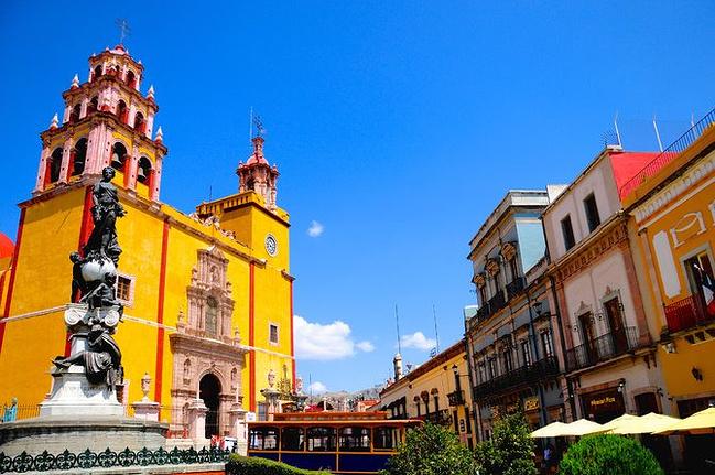 墨西哥城\/瓜纳华托\/坎昆之旅_墨西哥城旅游攻