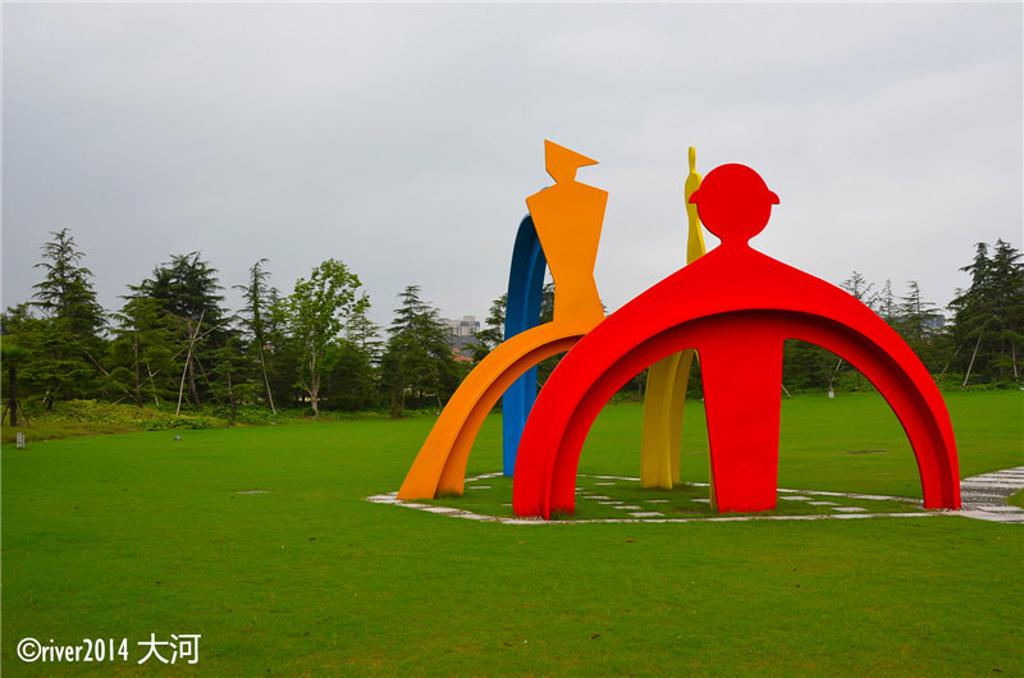 儿童森林嘉年华区域是公园内最热闹的