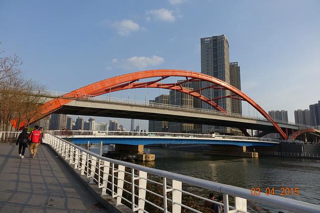 天津海河大桥矢量图