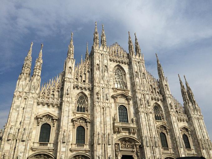 欧式建筑尖塔