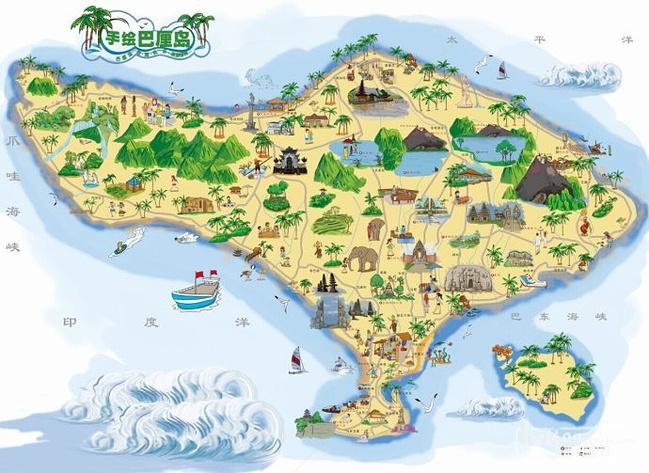 巴厘岛 库塔地图