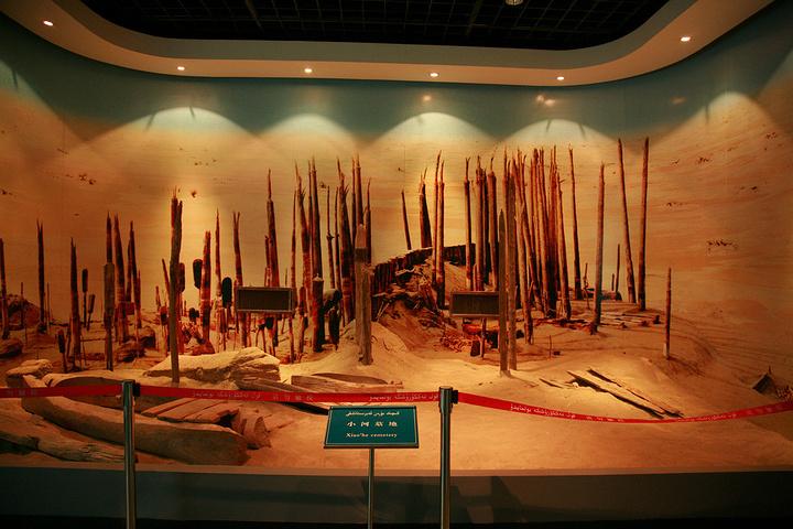 2017新疆博物馆的镇馆之宝是美女干尸,特别是蓝衣电车千年满员图片