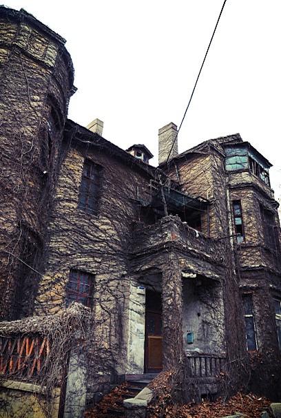 欧式老建筑都是被废弃