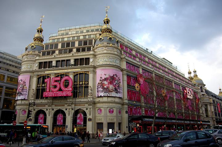 【关于退税1】巴黎春天和老佛爷两大购物商店就在【歌剧院】附近,貌似
