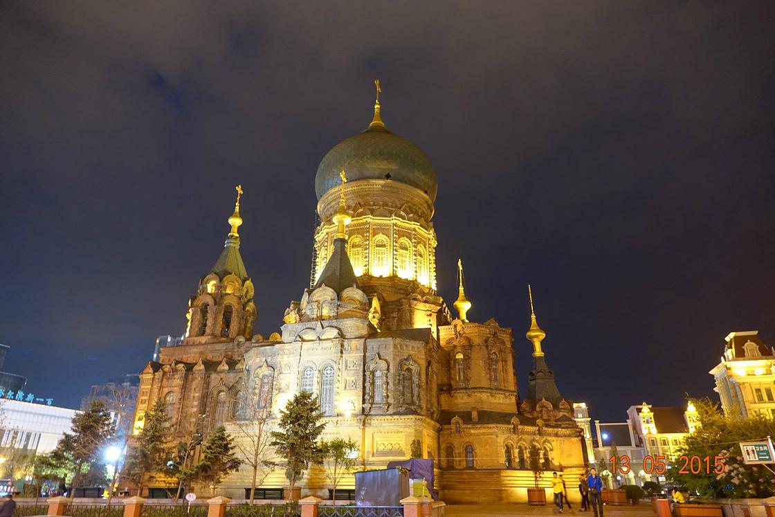 诸神建筑之美--哈尔滨地铁共处游_哈尔滨旅游新加坡出行宗教攻略图片