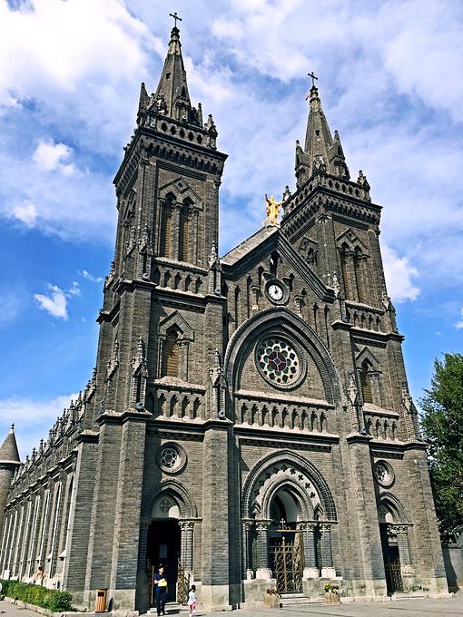 南关天主教堂图片
