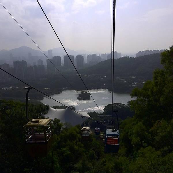 圆明园 珠海 缆车