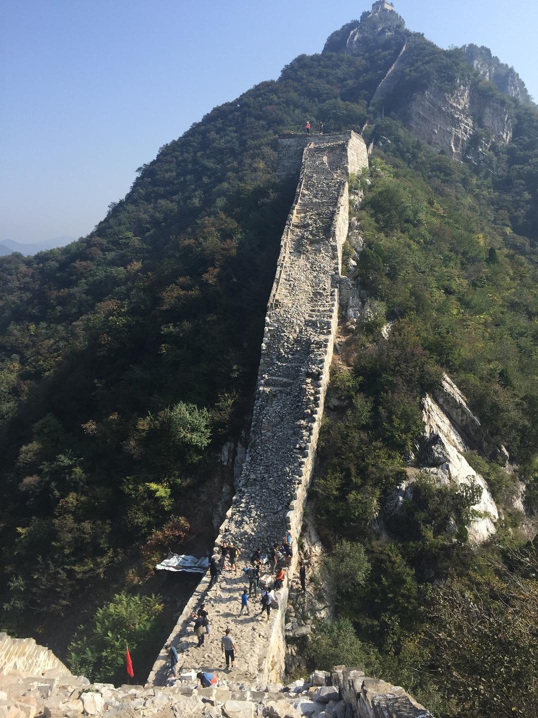 千里之行,始于足下--记箭扣北京徒步之行-长城旅游北京云峰山攻略图片