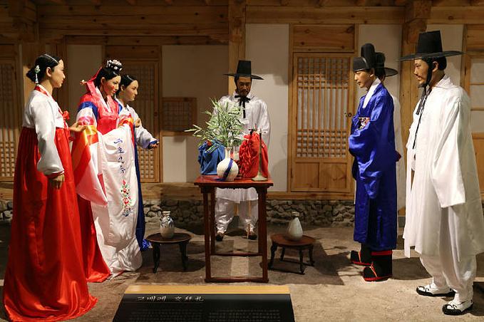 朝鲜族民俗风情园图片图片