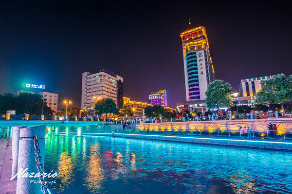 濠河风景名胜区图片